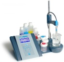 "sensION+ pH3 Laboratory pH Kit With 5011T pH Combination Electrode For ""Dirty"" (Wastewater) Applications"