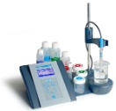 "sensION+ pH31 GLP Laboratory pH Kit With 5011T pH Combination Electrode For ""Dirty"" (Wastewater) Applications"