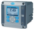 sc200 Universal Controller: 100-240 V AC (EU power cord) with one analog flow sensor input, one analog pH/ORP/DO sensor input, Profibus DP and two 4-20mA outputs